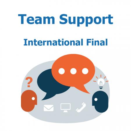 Team support in International Final