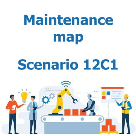Maintenance map - Scenario 12C1