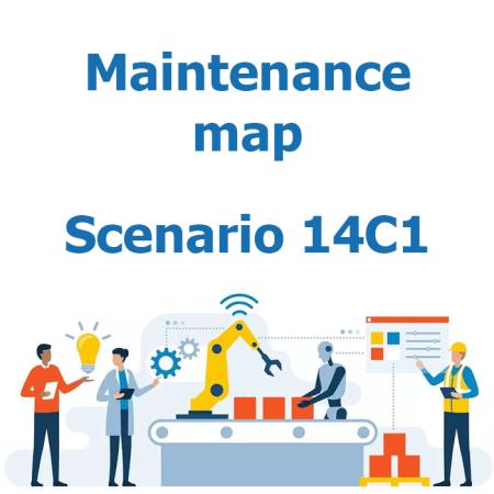 Maintenance map - Scenario 14C1