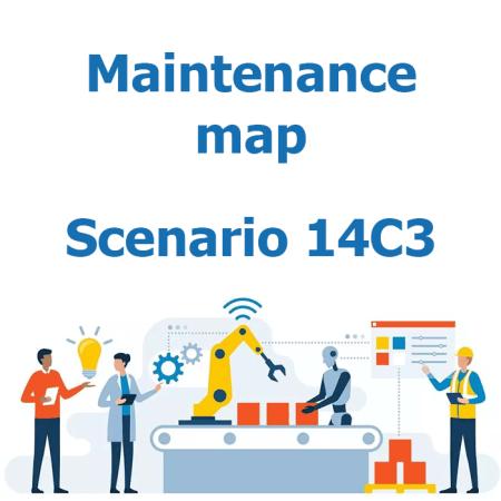 Maintenance map - Scenario 14C3