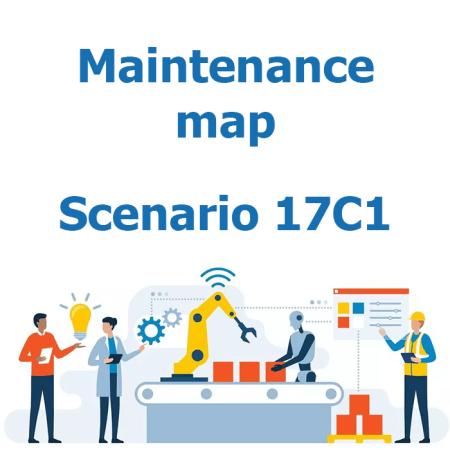 Maintenance map - Scenario 17C1