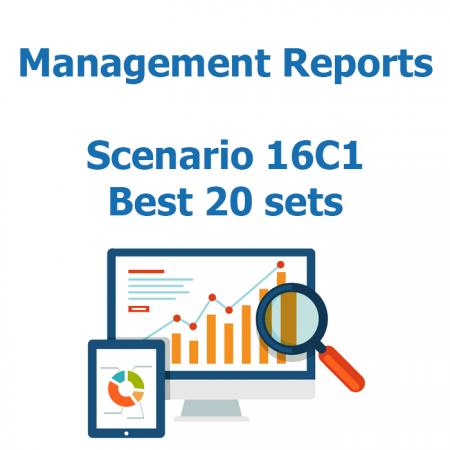 Reports - Scenario 16C1 - 20 sets