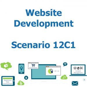 Website development - Database - Scenario 12C1
