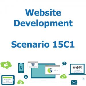 Website development - Database - Scenario 15C1