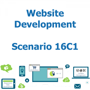 Website development - Database - Scenario 16C1